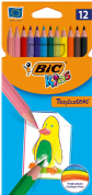 BIC KiDS Tropicolors - Colouring Pencils - Pack of 12